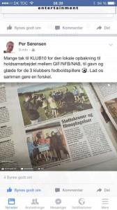 Klub10 i avisen