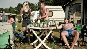Hygge i Klub10 lejren